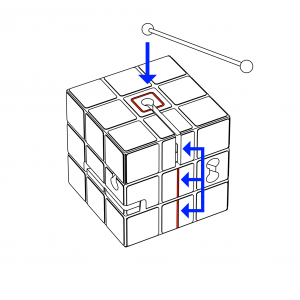 RUBIK drawing 1